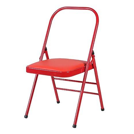 Amazon.com: MLX Silla plegable para comedor, silla de ocio ...