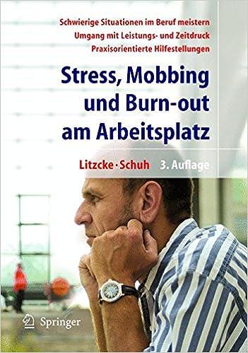 Book Stress, Mobbing Und Burn-out am Arbeitsplatz
