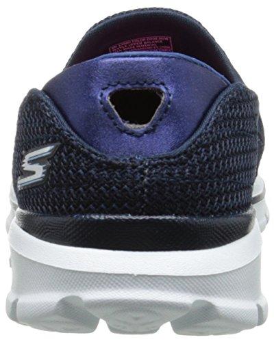 3 Zapatillas Deportivas Skechers Mujer NVW Azul Go Walk EqUW6T