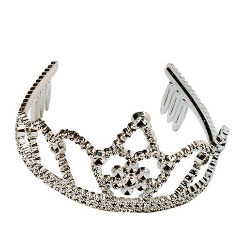 SILVER TIARAS, Sold By Case Pack Of 8 Dozens