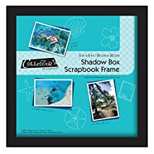 MCS Scrapbook Shadowbox, 8 by 8-Inch, Black