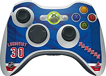 Image Unavailable. Image not available for. Color  NHL New York Rangers Xbox  360 Wireless Controller Skin ... f59749d9d