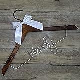 Wedding Hanger 10 Set, DIY Wedding Custom Name Hanger, Personalized Hanger, Bridesmaid Gift