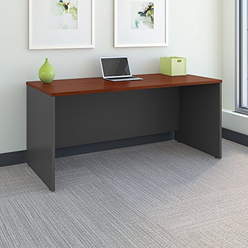 Series C 66W x 30D Office Desk in Hansen Cherry by Bush Business Furniture