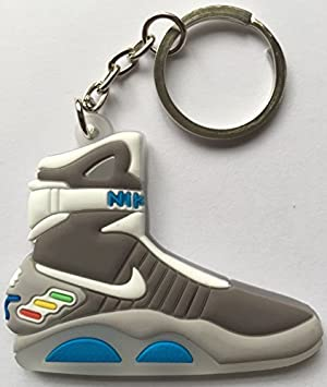 43bbf118fa89 Back to the Future Keyring 2D Nike Air Mag Keychain Glow In The Dark NEW by  Other  Amazon.co.uk  Toys   Games