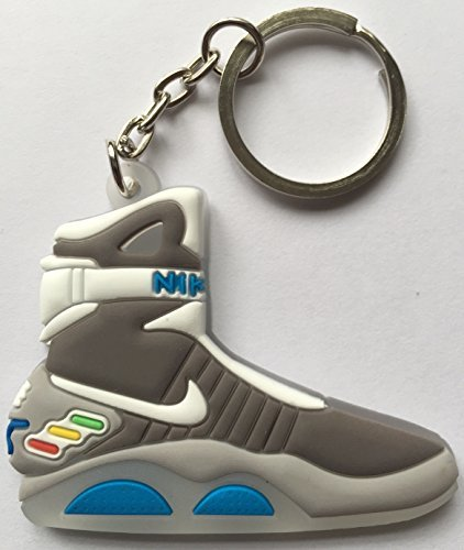 Other Back to The Future Keyring 2D Nike Air Mag Keychain Glow in The Dark New ()