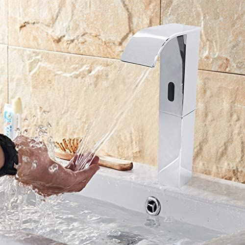 "G1/2""自動センサーの蛇口ハンズ無料バスルームシンクミキサー水タップG1/2""自動センサーの蛇口ハンズ無料バスルームシンクミキサー水タップ"