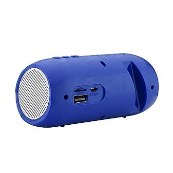 XTCMGZK Altavoz Estuche de Altavoz Bluetooth de Gran Potencia ...