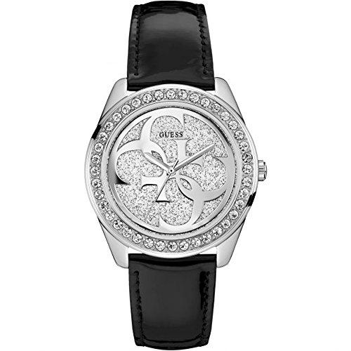 Guess Reloj Análogo clásico para Mujer de Cuarzo con Correa en Acero Inoxidable W0627L11