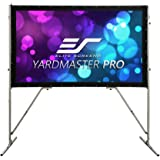 Elite Screens Yard Master Pro, 120-INCH Front & Rear Series Indoor Outdoor Portable Foldaway Movie Home Theater Projector Screen, 16:9, 4K / 8K Ultra HD, Active 3D, HDR Ready, OMS120H-PRO