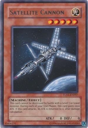 Yu-Gi-Oh! - Satellite Cannon (SDCR-EN012) - Structure Deck: Cyber Dragon Revolution - 1st Edition - Common