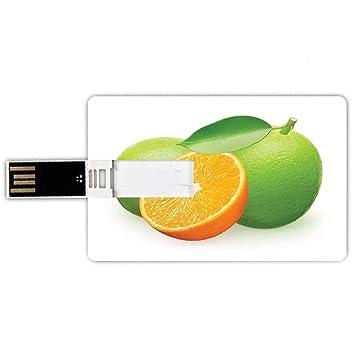 8GB Forma de tarjeta de crédito de unidades flash USB Verde ...
