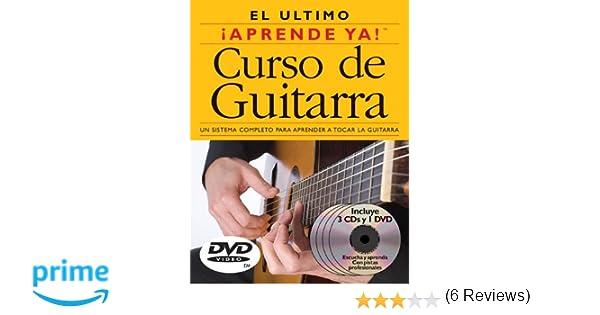 Curso de Guitarra: 3 Books/3 Cds/1 DVD Boxed Set With 3 CDs and DVD: Amazon.es: Ed Lozano: Libros