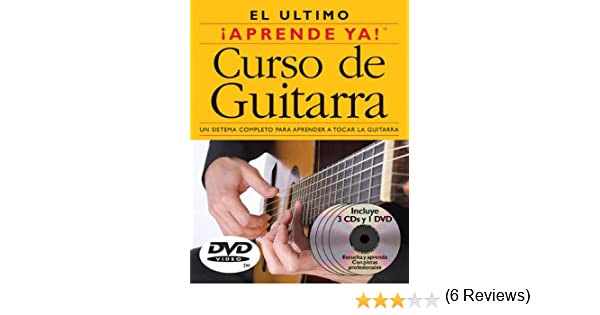 Curso de Guitarra: 3 Books/3 Cds/1 DVD Boxed Set With 3 CDs and DVD: Amazon.es: Ed Lozano: Libros