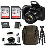 Canon PowerShot SX420 IS 20 MP Digital Camera with 48GB Accessory Bundle