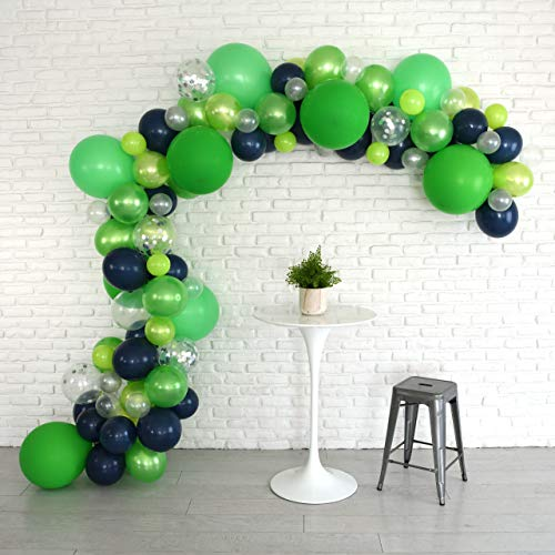 Lunar Bliss 16 ft Balloon Arch & Garland Kit | 100 Balloons, Green, Blue, Confetti | Birthday Party Decorations, Baby Shower, Engagement, Bridal Shower, Wedding, Anniversary, Event (Fizzy Lime)]()