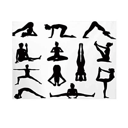 Amazon.com : Yoga Photography Background, Various Yoga and ...
