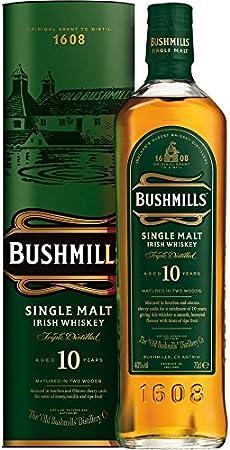 Bushmills Whisky irlandés de malta 10 años (1 x 0,7 l)