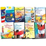 The Lighthouse Keeper's Lunch Collection 8 Books Set (Lunch, Rescue, Cat, Tea, Breakfast, Picnic, Catastrophe, Christmas)