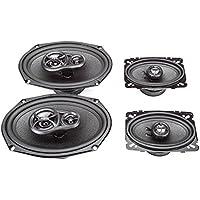1988-1989 Pontiac Firebird/Trans AM Complete Factory Replacement Speaker Package by Skar Audio
