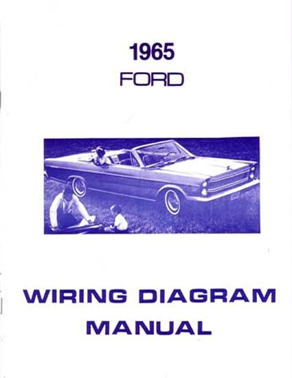 amazon com bishko automotive literature 1965 ford galaxie 1964 Ranchero Wiring-Diagram