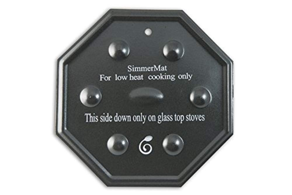 Cooks Innovations SimmerMat Heat Diffuser, Simmer Ring, and Flame Tamer for All Stove Types 1-Pack