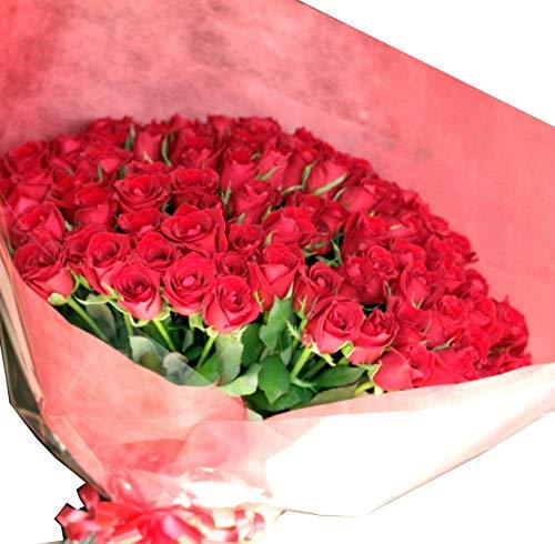 [ビズフラワー]【花束バラ 108本】プロポーズ専用花束 ミックス 薔薇 贈物 感謝 記念日 大切な日 BisesFlower B07KVVL5M9 ミックス