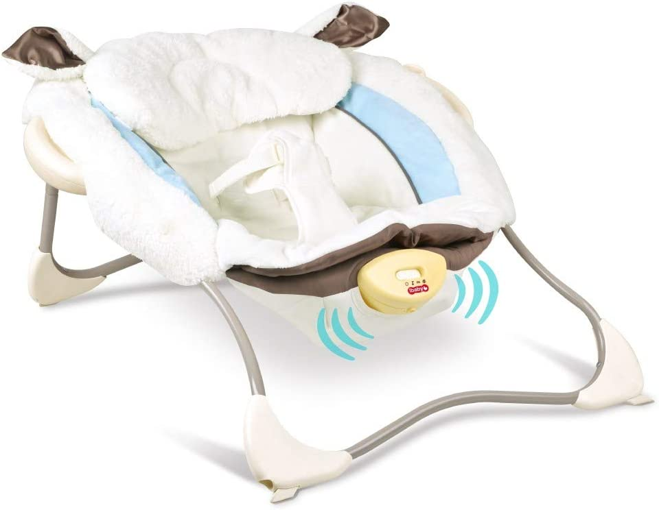Electric Portable Baby Swing Cradle for Infants Rocker Swing Chair with Music from US, Multicolour Wakepa Baby Swings