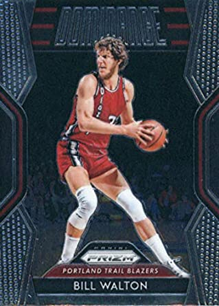 87e04ca2faa84 Amazon.com: 2018-19 Panini Prizm Dominance #25 Bill Walton Portland ...