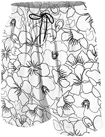 キッズ ビーチパンツ 花柄 サーフパンツ 海パン 水着 海水パンツ ショートパンツ サーフトランクス スポーツパンツ ジュニア 半ズボン ファッション 人気 おしゃれ 子供 青少年 ボーイズ 水陸両用