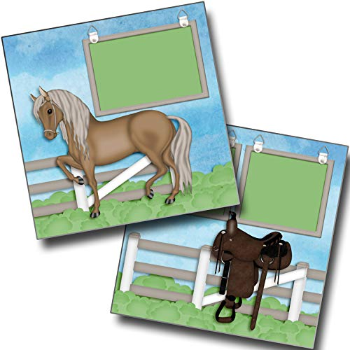 (Horse Life - Premade Scrapbook Pages - EZ Layout 4074)