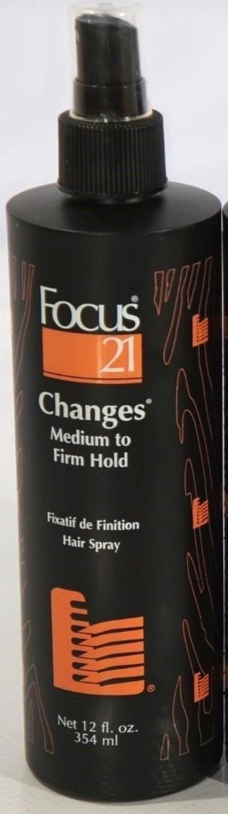 Focus 21 Changes Flexible Hold Spray 12oz