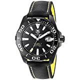 Tag Heuer Aquaracer Black Dial Automatic Mens Watch WAY218A.FC6362