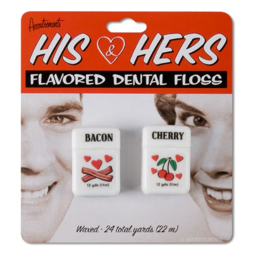 UPC 739048121421, Accoutrements His and Hers Dental Floss