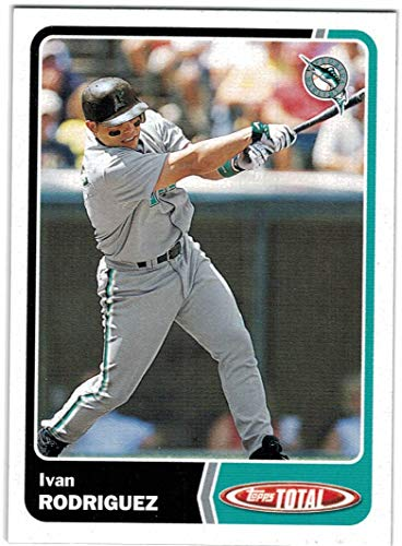 2003 Topps Total World Series Champion Florida Marlins Team Set with Ivan