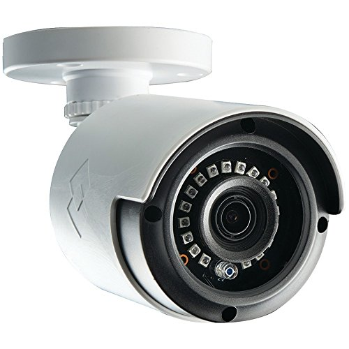 Lorex Indoor/Outdoor 2K Bullet Security Camera Black/white LAB243B
