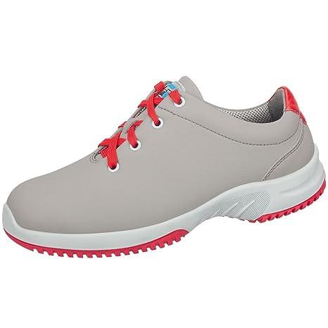Abeba - Zapatos de Trabajo (Plantilla Intercambiable, Antideslizante, O1, Fo, SRC), Color Negro Negro Negro Talla:36