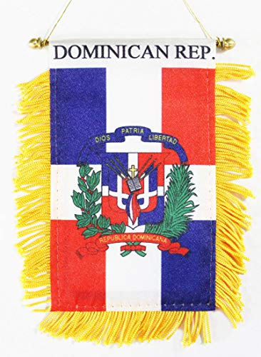 Dominican Republic - Window Hanging Flag