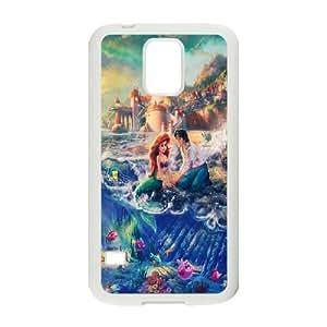 Samsung Galaxy S5 Cell Phone Case White Disneys Lilo and Stitch K1M1GS