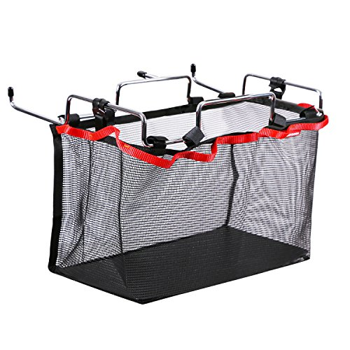 REDCAMP Stuff Storage Mesh Bag for Picnic/Outdoor/Camping/Kitchen Folding Table,Hanging Net