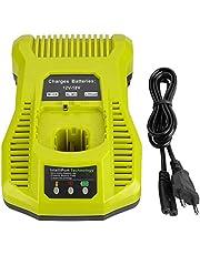 XXDZ 3A laddare ersätter Ryobi ONE+ 12 V 18 V P100 P101 P102 P103 P104 P105 P106 P107 P108 NI-MH Li-ion batteri