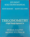 Student Solutions Manual for Trigonometry 9780136029434