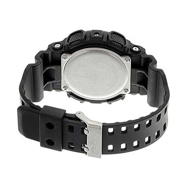 Casio Reloj Analogico-Digital para Hombre de Cuarzo con Correa en Resina GA-100MB-1AER 4