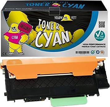 Yellow Yeti 4 Premium Toner Compatible With Samsung Clt P404c Bürobedarf Schreibwaren