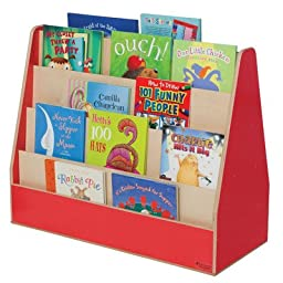 Healthy Kids Colors WD34200R Strawberry Red Double Sided Book Display