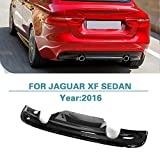 Rear Diffuser Bumper Lip for Jaguar XF Sedan 2016