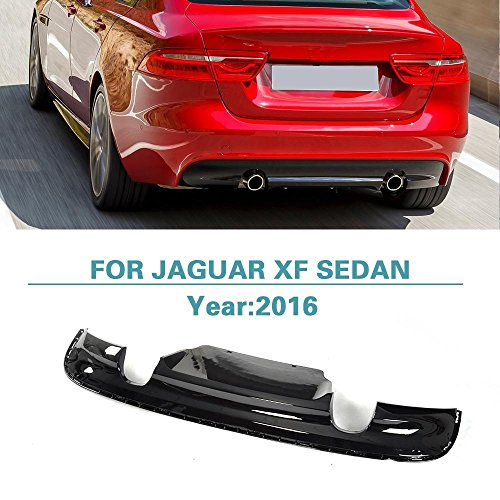 Rear Diffuser Bumper Lip for Jaguar XF Sedan 2016 by Jun-star