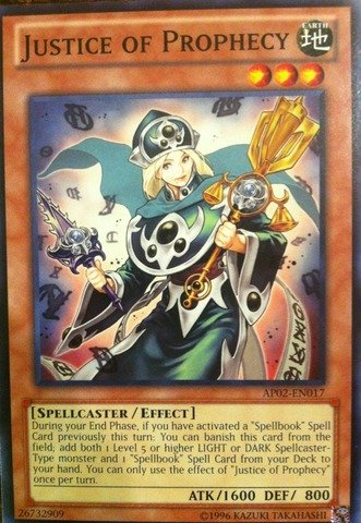 Yu-Gi-Oh! - Justice of Prophecy (AP02-EN017) - Astral Pack: Booster Two - Unlimited Edition - Common ()