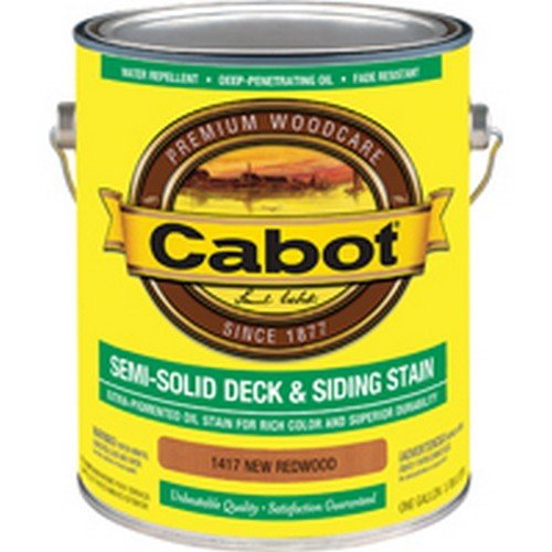 (CABOT 1417 CAB OIL S/S NEW REDWD GAL)