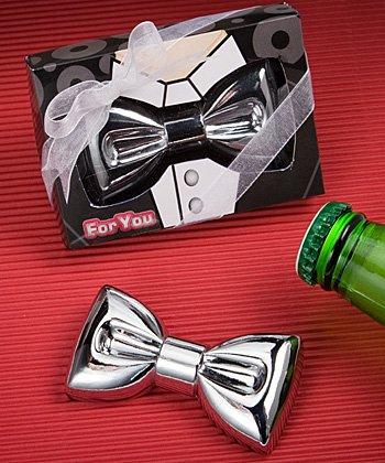 Festive Bow Tie Design Bottle Openers